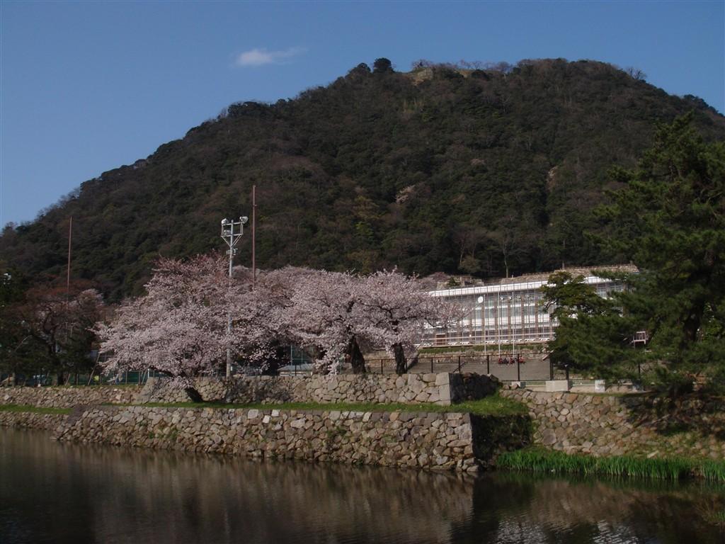 鳥取西高校校舎